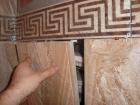 Ремонт ванной под ключ. Монтаж скрытого люка под плитку. Работа мастера Красимира К.