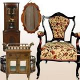 Реставрация антикварной мебели. Деревянная, мягкая  антикварная мебель.