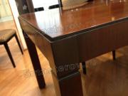 Реставрация деревянной мебели. Ножка стола в салоне после реставрации. Работа мастера-реставратора Николая Ш.