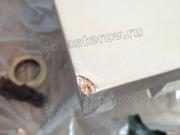 Реставрация ДСП. Угол тяжелого шкафа-купе. Откололся при сборке. Фото мастера-реставратора Николая Ш.