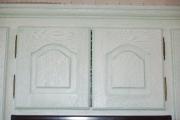 Реставрация фасадов кухни. Обновленный фасад старой кухни.
