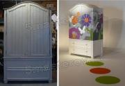 Реставрация мебели Москва. Старинный шкаф в современном виде будет еще долгие годы радовать хозяев.