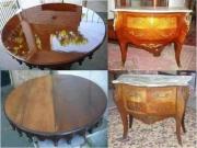 Реставрация мебели, недорого. Реставрация столешницы и комода.