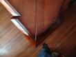 Реставрация мебели. Угол письменного стола после реставрации. Вид сверху. Работа мастера-реставратора Николая Ш.