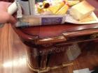 Реставрация мебели. Стол после реставрации. Идеальная реконструкция. Работа мастера-реставратора Николая Ш.