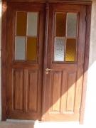 Реставрация сталинских дверей. Дверь после реставрации выглядит добротно и по-современному.