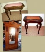 Реставрация старинной мебели. Восстановление деталей старинной мебели.