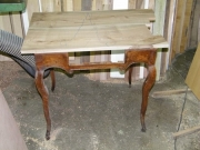 Реставрация старого стола. Стол до реставрации.