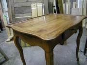Реставрация старого стола. Стол после реставрации.