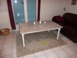 Реставрация старой мебели. Старый стол после реставрации.