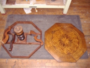 Реставрация стола. Стол до реставрации.