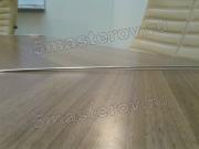 Реставрация стола. У офисного стола из МДФ вылетели металлические вставки.