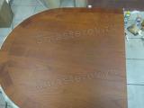 Реставрация столешницы. Итальянский стол из массива дерева после реставрации. Работа мастера-реставратора Николая Ш.