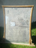 Реставрация зеркала. В этом зеркале необходимо было отреставрировать раму и зеркальное полотно.