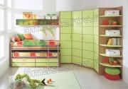 Сборка детской мебели. Детский гарнитур может состоять из большого количества предметов.