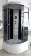 Сборка душевой кабины Artex. Душевая кабина Artex 2690 с высоким поддоном, хромированным профилем и самоочищающимися гидромассажными форсунками.