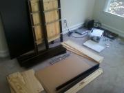 Сборка корпусной мебели. Перед сборкой корпусной мебели необходимо ознакомиться с инструкцией по сборке и распаковать детали.
