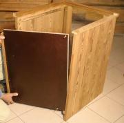 Сборка корпусной мебели. Сборка шкафа из дерева.