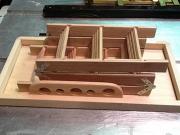 Сборка кровати чердака. Кровать-чердак - довольно сложное изделие, которое состоит из большого количества деталей.