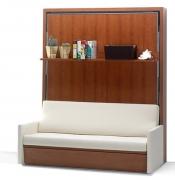 Сборка кровати трансформер. Кровать- трансыормер удобна и функциональна. Днем-шкаф или стол, вечером - удобная кровать.