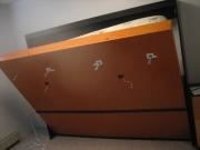 Сборка кровати трансформер. Оцените удобство кровати-трансформера! Днем она занимает совсем мало места.
