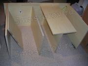 Сборка мебели на дому цены. Начальный этап сборки шкафа - распаковка  и распределение деталей по инструкции.