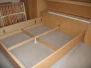 Сборка мебели на дому цены. Сборка спального гарнитура с выдвижной кроватью.