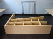Сборка мебели на дому. Сборка стеллажей Икеа.