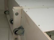 Сборка мебели ремонт. Ремонт и замена колесиков на кухонном шкафе.