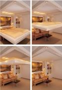 Сборка подъемной кровати. Новейшее поколение подъемных кроватей - кровать убирается под потолок.