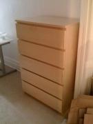 Сборка спального гарнитура. Комод в спальном гарнитуре собирается как обычный шкаф с ящиками.