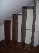 Сборщик мебели Икеа. Сборка шкафов Икеа для гардероба под лестницей.