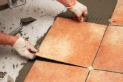 Смета на ремонт квартиры. Мы осуществляем укладку плитки на пол и стены, в том числе сложной конфигурации.