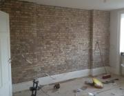 Стоимость ремонта квартиры под ключ. Строительство межкомнатной перегородки.