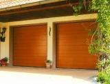 Установить автоматические ворота. Секционные гаражные ворота.