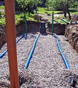 Установка канализации в частном доме. Схема канализации, в основном, состоит из трех частей: очистные устройства, внутренняя сеть и наружная сеть.