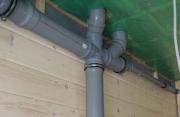 Установка канализационных труб. Канализационные трубы в частном доме прокладываются в зависимости от расположения сантехники и бытовой техники.