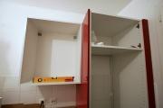 Установка кухонной мебели. Сборка и установка навесных кухонных шкафчиков.