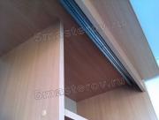 Установка направляющих шкафа купе. От правильной установки верхних и нижних направляющих зависит работа дверей шкафа-купе.