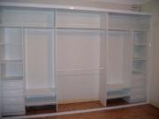 Установка шкафа купе. Установка внутренних полок и ящиков.