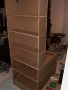Установщик сборщик мебели. Сборка шкафа-стеллажа.