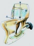 Устранение засоров в унитазе. Засор в унитазе довольно часто возникает в месте слива в канализационную трубу.