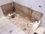 Ванная и туалет под ключ. Демонтажные работы - демонтаж труб, раковины, ванны, полотенцесушителя, плитки.