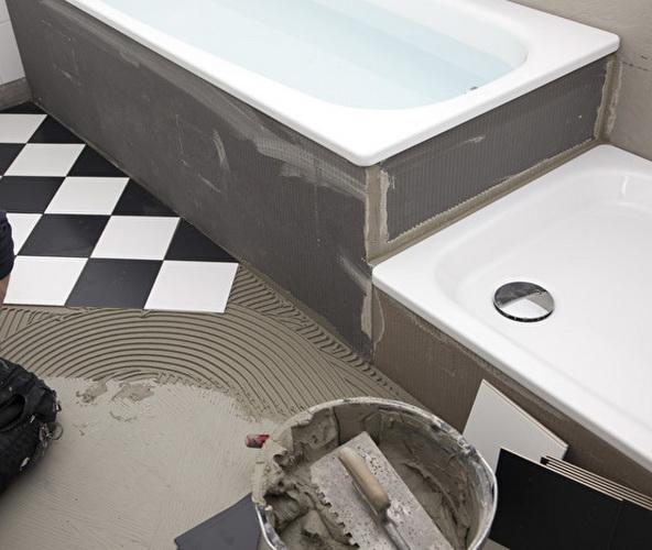 Сколько стоит ванная под ключ дизайн