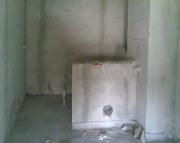 Ванная под ключ эконом. Маленький совмещенный санузел в дачном доме до ремонта.