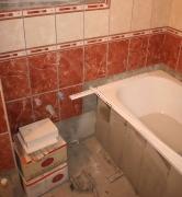 Ванная под ключ. Плитка является наиболее популярным материалом для отделки стен и пола в ванной комнате.