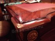Восстановление мебели. Дорогой итальянский стол из массива дерева. Поврежден при транспортировке. Фото мастера-реставратора Николая Ш.