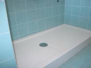 Замена ванны на душевую кабину. Установка поддона перед дальнейшим монтажом душевой кабины.